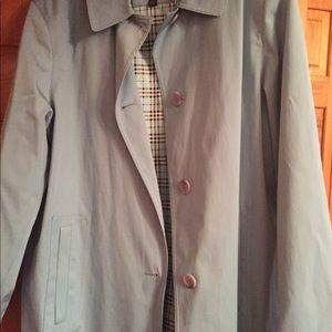 Gallery brand rain coat